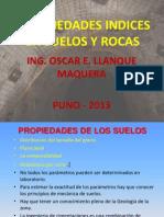 Propiedades Indices IV - 2013