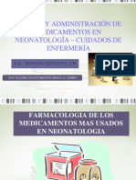 Administracion de Medicamentos en Neonatos