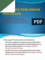 Biometri Bab 3 Klasifikasi Rancangan Percobaan