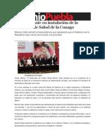 16-08-2013 Sexenio Puebla - RMV presente en instalación de la Comisión de Salud de la Conago