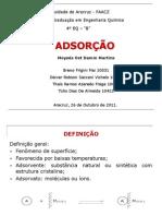 ADSORÇÃO - slides