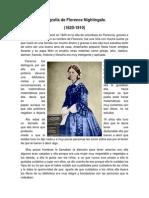 Biografía de Florence Nightingale