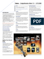 Decipher's Wars CCG - 0 Comprehensive Rules v1.5