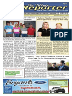 The Village Reporter - September 18th, 2013
