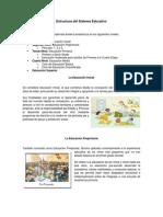 Trabajo de Estructura de La Educacion
