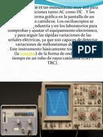 Presentación Osciloscopio.