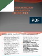 1º tópico - TEORIA GERAL DE SISTEMAS - Abordagem sistêmica