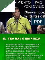 Movimiento  PAIS en Portoviejo, Manabí