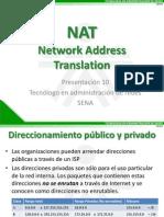 Presentacion 10 - NAT