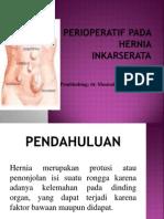 Perioperatif Pada Hernia Inkarserata