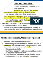 Mendel and the Gene Idea