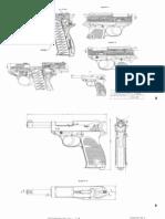 walther pistol partial blueprints