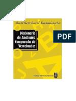Diccionario de Anatomia Comparada de Verebrados