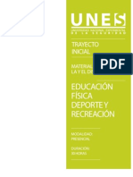 Material Discente Educacion Fisica Deporte y Recreacion