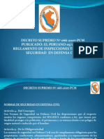 Decreto Supremo No 066-2007-Pcm