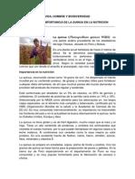 FORO Nº 02 IMPORTANCIA DE LA QUINUA