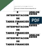 ANALISISEINTERPRETACIONDEESTADOS FINANCIEROS