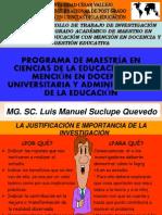 DIAPOSITIVAS 2 UCV MAESTRÍA