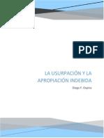 El delito de Usurpación y apropiación indebida en la república de panamá
