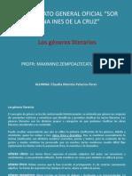 Generos Literarios - Mariela