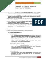 Petunjuk Pengisian Data Diniyah TP 2013-2014