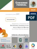 DIIAGNOSTICO Y TRATAMIENTO DEL DETERIORO COGNOSCITIVO EN EL ADULTO MAYOR