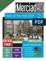 The Merciad, September 18, 2013
