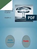Mapa conceptual dinámica de fluidos