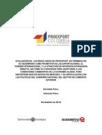Proexport - Informe Final Entregado