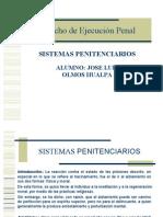 Derecho Penitenciario Sistemas Penitenciarios