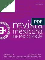 Revista Mexicana de Psicologia Vol 28 No 2