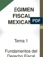 Regimen Fiscal Mexicano