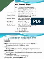 Senior Parent Handout 2013-2014