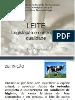 LEITE legislação e controle de qualidade