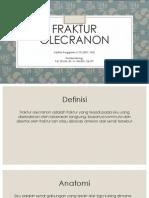 Fraktur olecranon