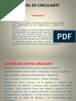 Capital de Circulante-exposicion