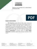 LUCAS RIBEIRO CAVALCANTE  - CONTESTAÇÃO - ELABORADA EM 16 09 2013