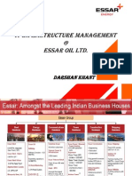 IT Infrastructure @ Essar Oil Ltd.(ITIL)