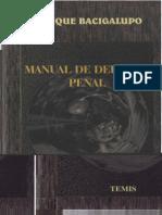 __INCOMPLETE__Bacigalupo, Enrique - Manual de Derecho Penal