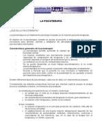 PSICODINAMIA DE LA PSICOTERAPIA
