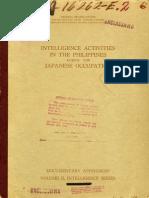Philippines Intelligence Report (1943)