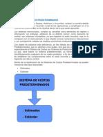 Unidad 4 Sistemas de Costos Predeterminados