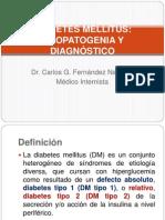 Dm Etiopatogenia y Dx