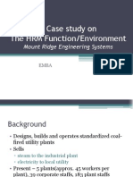 THE HRM Function - Mount Ridge Engineering System