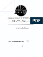 FBI File on the VENONA Project