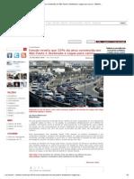 Estudo revela que 25% da área construída em São Paulo é destinada a vagas para carros - MotorDream