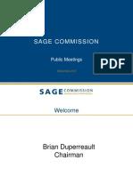 SAGE Public Presentation - Sept 17