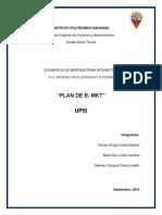 UPIS - Plan e mkt