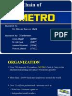 METRO Supply Chain