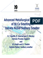 Xstrata NiCu Smelter Metallurgical Modelling